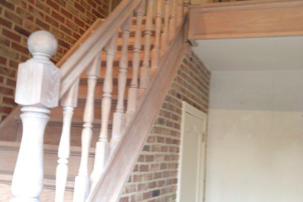 Behang trap interesting dichte trap met upstairs san diego oak